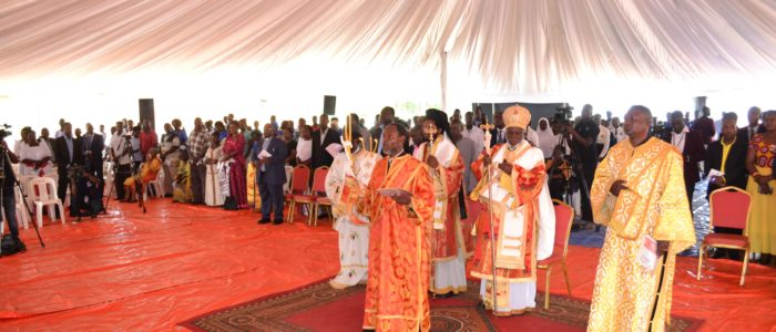 Celebration of 100 Years of Orthodoxy in Uganda at Lubya Hill