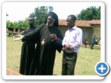 His Eminence with the Two seminerians at Holy Ascension church